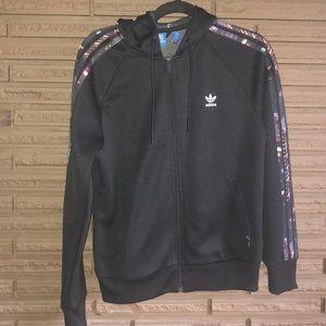 Adidas - zip up hoodie